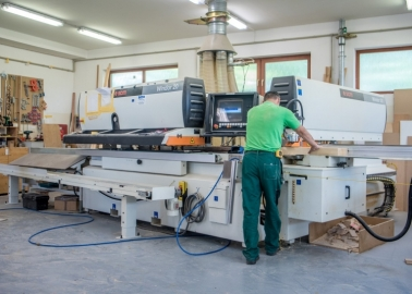 Výroba okien na CNC stroje WINDOR