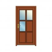 vchodové dvere vzor 4
