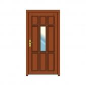 vchodové dvere vzor 17