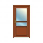 vchodové dvere vzor 25