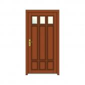 vchodové dvere vzor 52